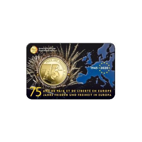 2,5 Euro Belgium 2020 - 75 years of freedom (BU card)