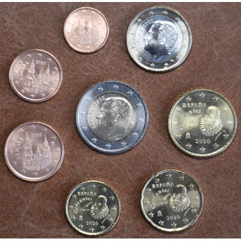 Set of 8 coins Spain 2020 (UNC)