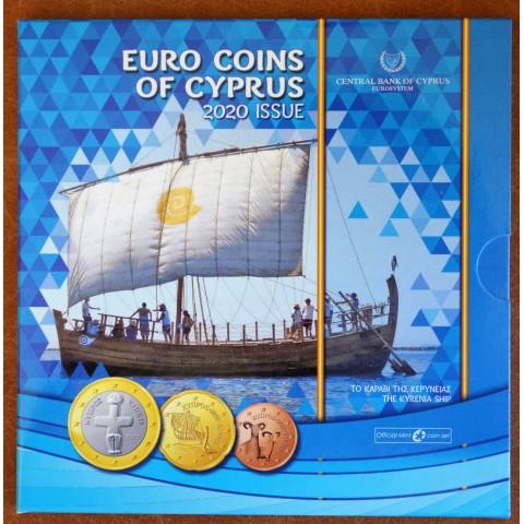 Set of 8 eurocoins Cyprus 2020 (BU)