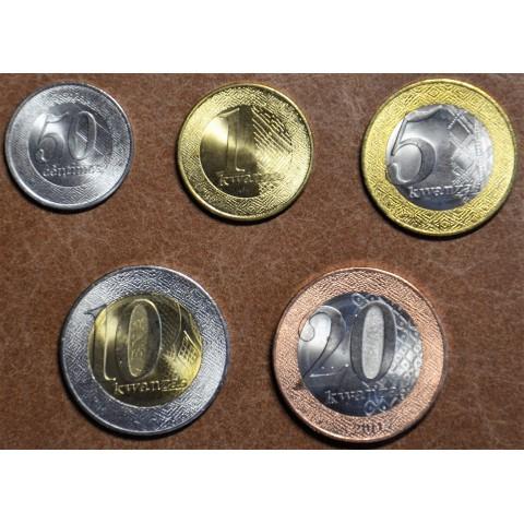 Angola 5 coins kwanza 2012-2014 (UNC)