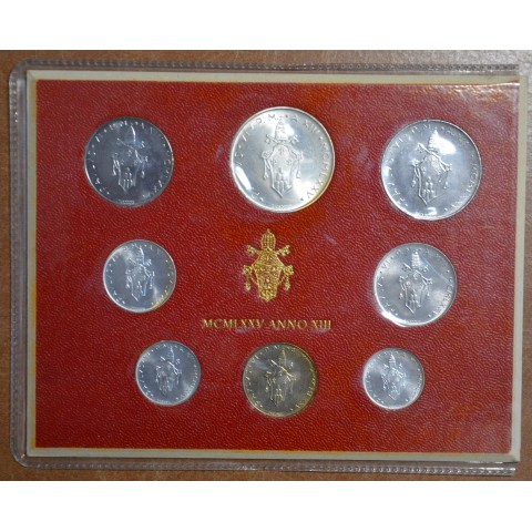 Vatican 8 coins 1975 (BU)