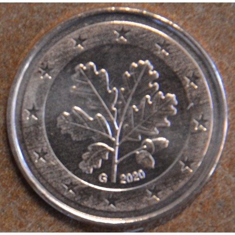 """2 cent Germany """"G"""" 2020 (UNC)"""