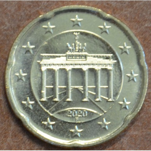 "20 cent Germany ""F"" 2020 (UNC)"