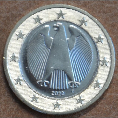 "1 Euro Germany ""F"" 2020 (UNC)"