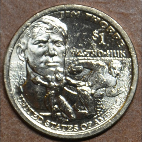 "1 dollar USA ""P"" 2018 Jim Thorpe - Wa-Tho-Huk (UNC)"