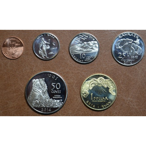 USA set of coins of tribe Ewiiaapaayp 2014 (UNC)