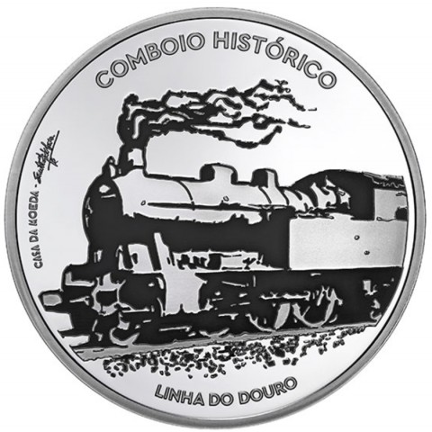 7,5 Euro Portugal 2020 - Historic trains (UNC)