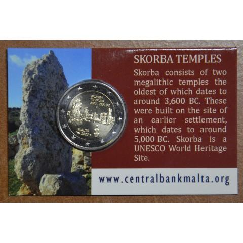 2 Euro Malta 2020 french mintmark - Ta' Skorba (BU)