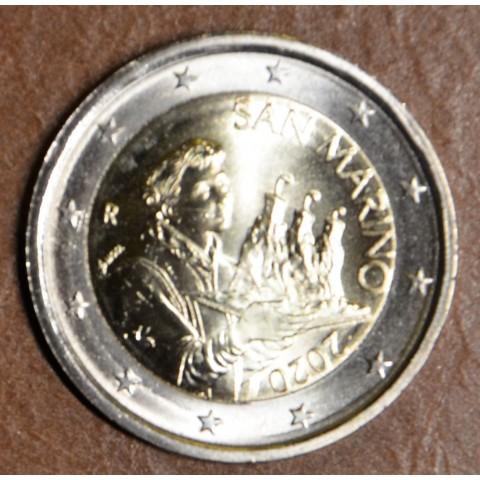 2 Euro San Marino 2020 - Saint Marinus (UNC)