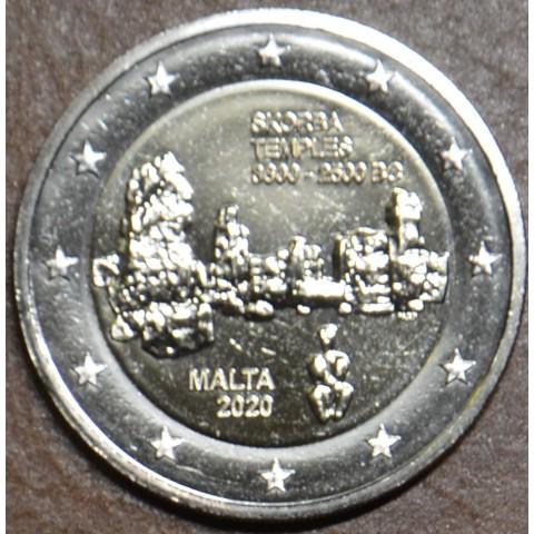 "2 Euro Malta 2020 ""F"" mintmark - Ta' Skorba (UNC)"