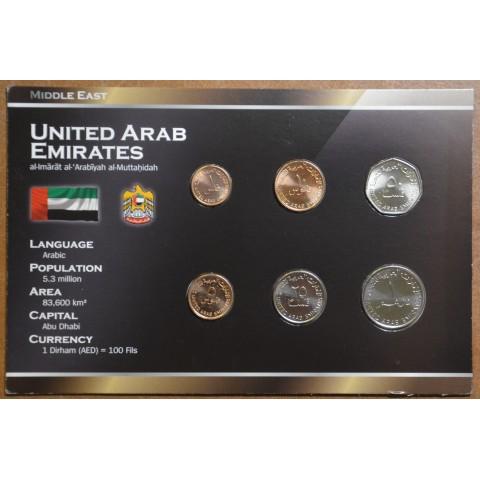 United Arab Emirates 6 coins (UNC)