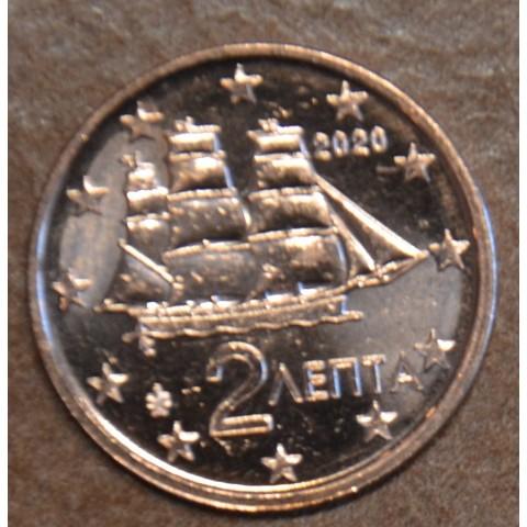 2 cent Greece 2020 (UNC)