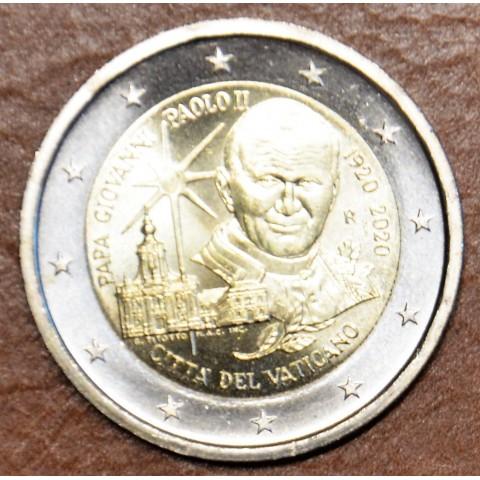 2 Euro Vatican 2020 - 100th Anniversary of the Birth of John Paul II (UNC)