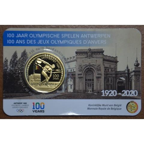 2,5 Euro Belgium 2020 - Olympic games Antwerpen 1920 (BU card)