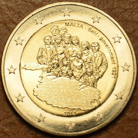 2 Euro Malta 2013 - 1921 Self Government (UNC)