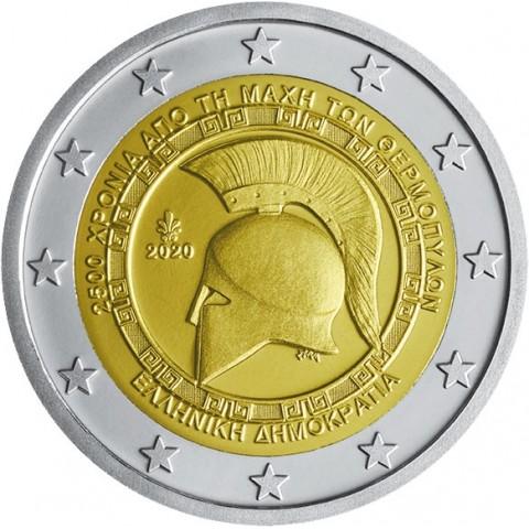 2 Euro Greece 2020 - Battle of Thermopylae (UNC)