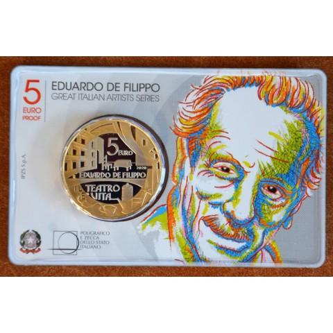 5 Euro Italy 2020 - Eduardo de Filippo (Proof)