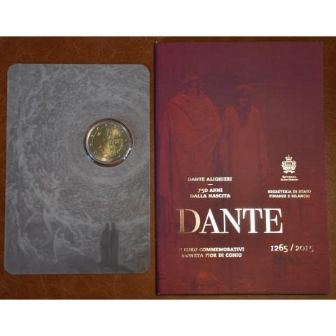 2 Euro San Marino 2015 - 750th anniversary of the birth of Dante Alighieri  (BU)