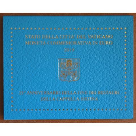 Cover for 2 Euro Vatican 2019 - Sistine Chapel