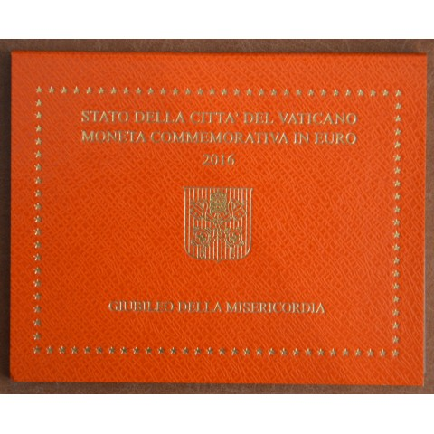 Cover for 2 Euro Vatican 2016 - Jubilee of Mercy