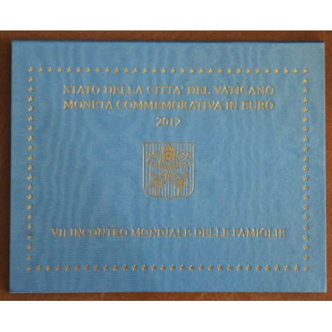 Cover for 2 Euro Vatican 2012 - 7th  World Meeting of Families