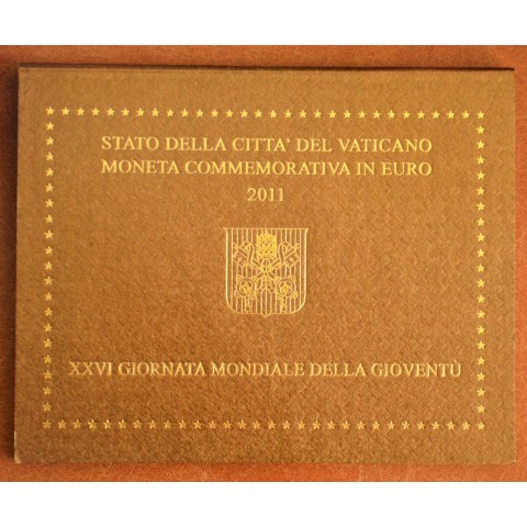 Cover for 2 Euro Vatican 2011 - XXVI World Youth Day Madrid 2011