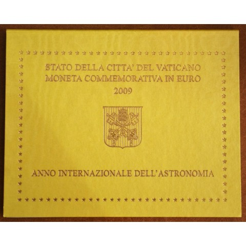 Cover for 2 Euro Vatican 2009 - International Year of Astronomy