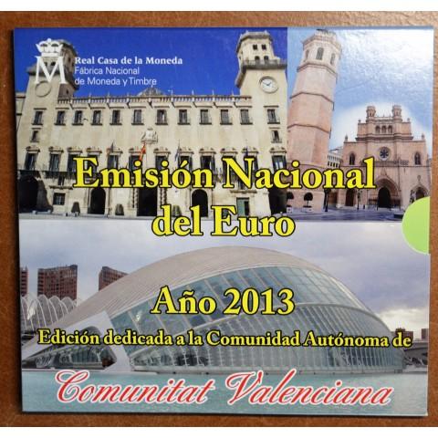 Spain 2013 set of 9 coins + token (BU)