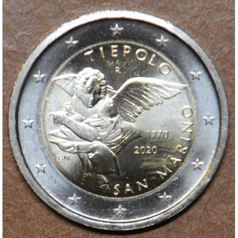 2 Euro San Marino 2020 - Giovanni Battista Tiepolo (UNC)
