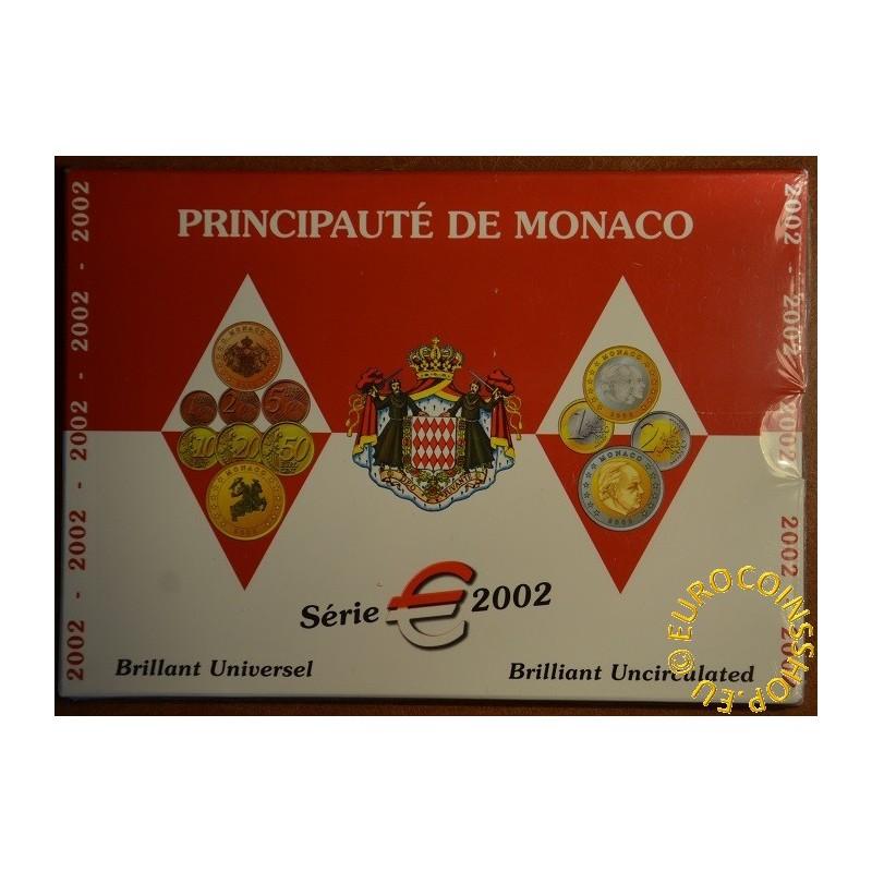 Euro set of 8 coins Monaco 2002 (BU)
