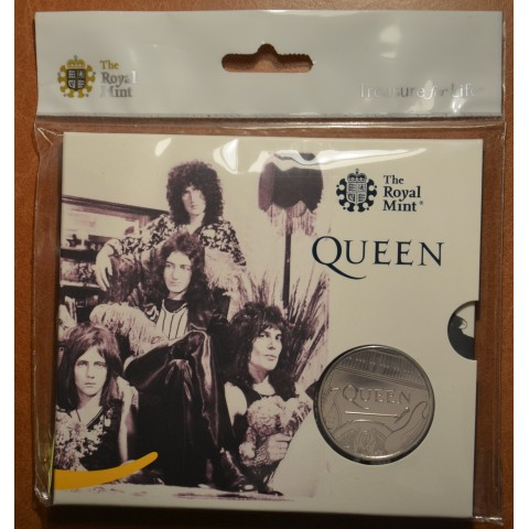 United Kingdom 5 pound 2020 Queen (BU)