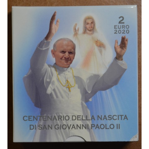 2 Euro Vatican 2020 - 100th Anniversary of the Birth of John Paul II (Proof)