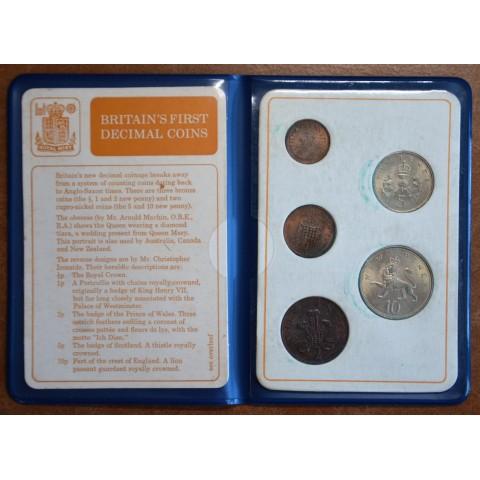 United Kingdom set of 5 coins (UNC)