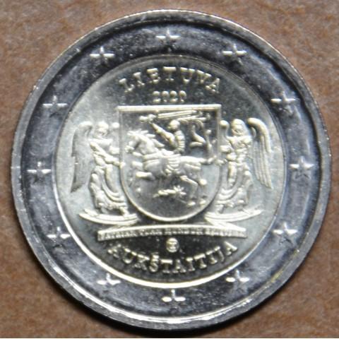 2 Euro Lithuania 2020 - Aukštaitija (UNC)