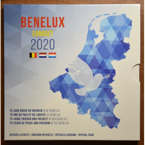BeNeLux 2020 - set of 24 eurocoins (BU)
