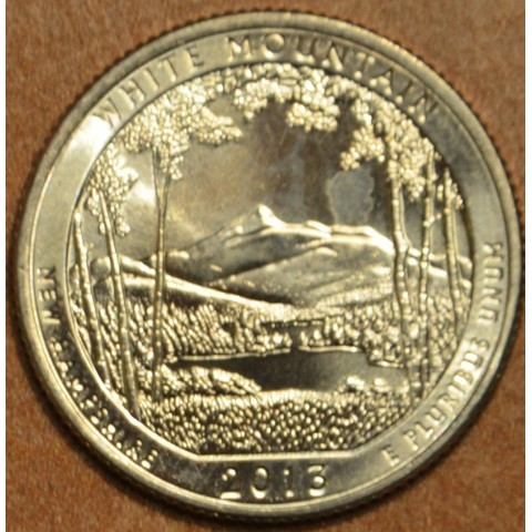 "25 cent USA ""D"" 2013 White Mountain (UNC)"