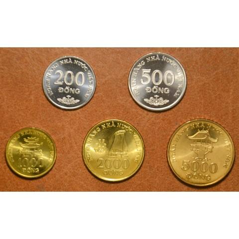 Vietnam 5 coins 2003 (UNC)