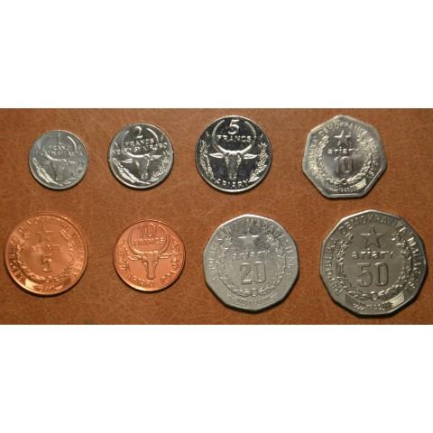 Madagascar 8 coins 1984-1994 (UNC)