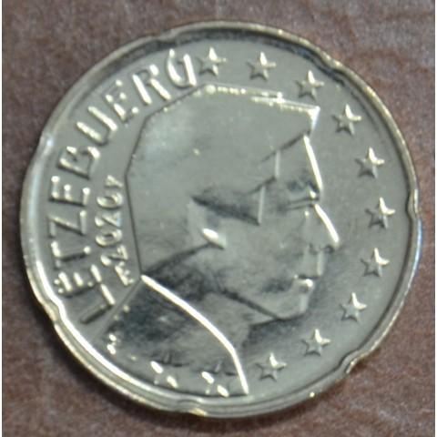 "20 cent Luxembourg 2020 with mintmark ""bridge"" (UNC)"