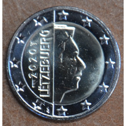 "2 Euro Luxembourg 2020 with mintmark ""bridge"" (UNC)"