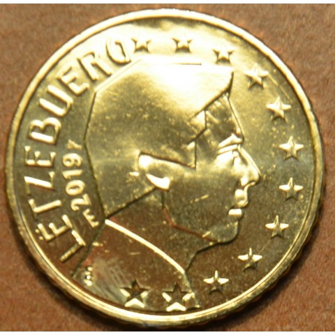 "50 cent Luxembourg 2019 with mintmark ""bridge"" (UNC)"