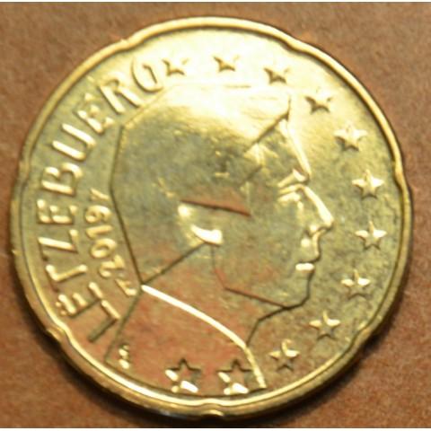 "20 cent Luxembourg 2019 with mintmark ""bridge"" (UNC)"