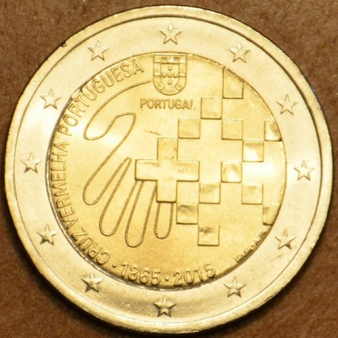 2 Euro Portugal 2015 - 150 years of Red Cross (UNC)