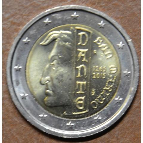 2 Euro San Marino 2015 - 750th anniversary of the birth of Dante Alighieri  (UNC)