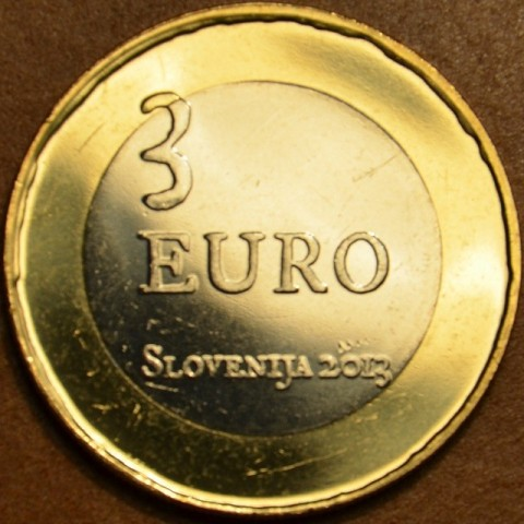 Commemorative coin 3 Euro Slovenia 2013 (UNC)