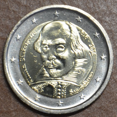 2 Euro San Marino 2016 - 400th anniversary of the death of William Shakespeare (BU)