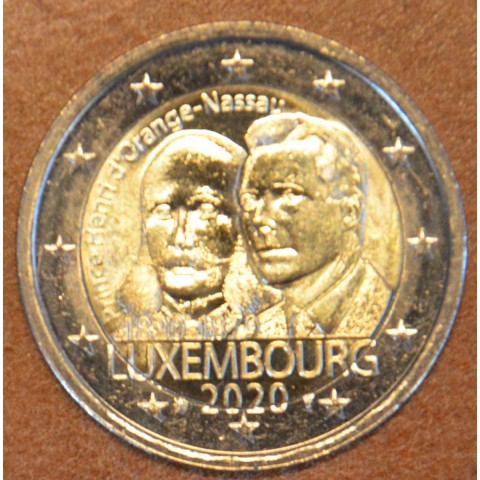 "2 Euro Luxembourg 2019 with mintmark ""lion"" -  Prince Henry d'Orange-Nassau (UNC)"
