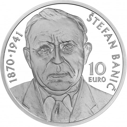 10 Euro Slovakia 2020 - Štefan Banič (Proof)