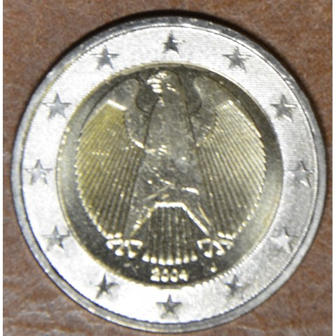 "2 Euro Germany ""J"" 2004 (UNC)"
