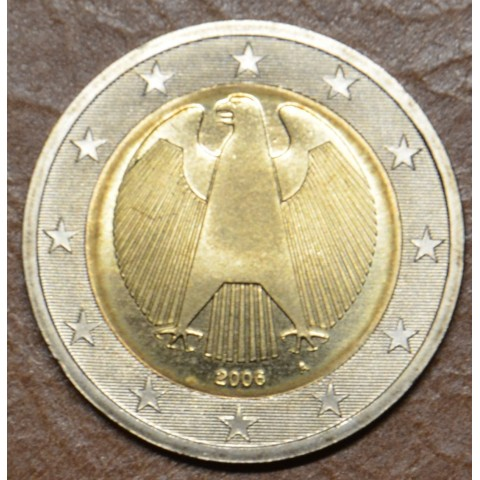 """2 Euro Germany """"A"""" 2006 (UNC)"""